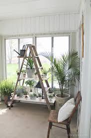 Diy Ladder Shelf Shelves Tutorials by Best 25 Antique Ladder Ideas On Pinterest Decorating With