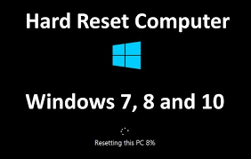 resetting battery windows 7 hard reset computer windows 7 8 and 10 device boom