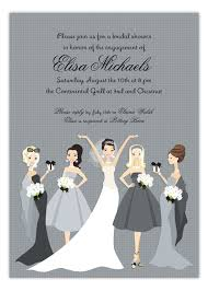 bridesmaids invitations bridesmaids invitation polka dot design