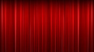 Theater Drape Opening And Closing Red Curtain Stock Footage Video 1008724
