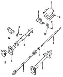 1990 daihatsu rocky 1990 daihatsu rocky steering column parts