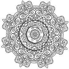 good intricate mandala coloring pages 39 about remodel gallery