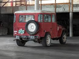 red land cruiser 1966 fj40 red fj40 44556