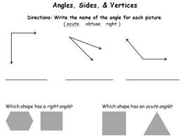 angles sides u0026 vertices common core math worksheets by