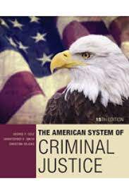 test bank for the american system of criminal justice 15th edition