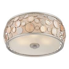 Caged Ceiling Fan With Light Furniture Glamorous Semi Flush Mount Lighting Semi Flush Mount