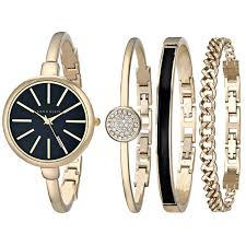 anne klein bracelet images Anne klein women 39 s ak 1470gbst gold tone watch and jpg