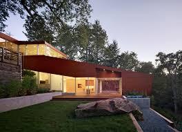 hillside home plans hillside house bruce damonte architectural photographer