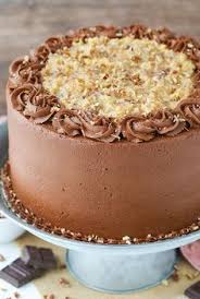 german chocolate cake coconut pecan chocolate frosting and