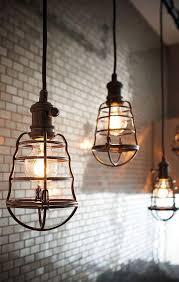 Metal Pendant Light Fixtures Industrial Pendant Lighting Caged Pendant Light Fixtures