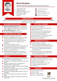 latest resume model resume style