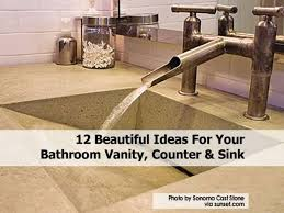 12 beautiful ideas for your bathroom vanity counter u0026 sink
