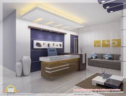 beautiful 3d interior office designs kerala home design and