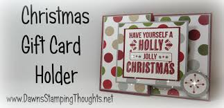 gift card holder with using stin up products