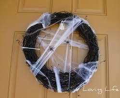 Halloween Spider Wreath by Loving Life Spider Wreath