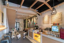 home design store jakarta the barkbershop pet grooming studio cafe by evonil architecture