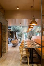 Restaurant Kitchen Lighting London Restaurant Impresses With Lots Of Copper Beauty