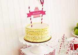 cake topper ideas kara s party ideas bake shop girl sophisticated 5th birthday party