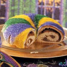 mardi gra cake mardi gras king cake recipe taste of home
