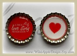 wedding magnets bottle cap magnet wedding favors you can make diy