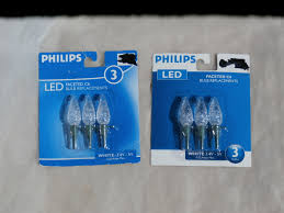 clear replacement bulbs christmas lights 2 packages of 3 clear faceted c6 led bulb and 50 similar items