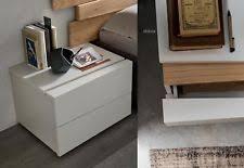 comodini moderni bianchi comodino moderno in vendita ebay
