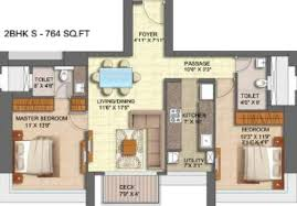 Antilla Floor Plan 1800 Sq Ft 3 Bhk 3t Apartment For Sale In Runwal Realty Forests