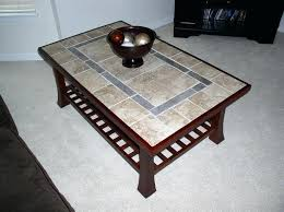 tile table top makeover tile top table top coffee table tile about home interior ideas tile