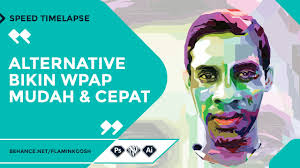 tutorial wpap photoshop 7 wpap vector with 3 software photoshop corel illustrator