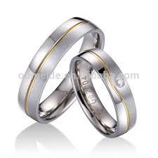 Italian Wedding Rings by Wholesale 2015 New Italian Titanium Rings Gold Plated Wedding