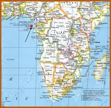 map of sao tome on the road again next stop portuguese africa the of non