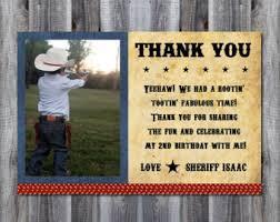 cowboy thank you etsy