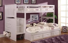 Queen Bed Twin Over Queen Bunk Bed With Stairs Kmyehaicom - Full over queen bunk bed
