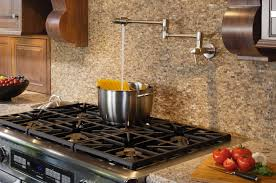 wall mount pot filler kitchen faucet learn more about pot filler height the homy design