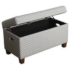 cameron storage bench kids storage ottoman gray homepop target