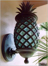 Pineapple Light Fixture Pineapple Outdoor Lighting Comfy Pineapple Outdoor Light