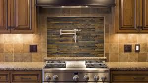 Tin Kitchen Backsplash 100 Ceiling Tiles As Backsplash A White And Brown Striped