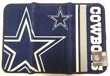 Dallas Cowboy Bathroom Set Dallas Cowboys Rug Football Nfl Ebay