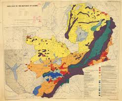 Zambia Map Soils Map Of The Republic Of Zambia The Republic Of Zambia Atlas