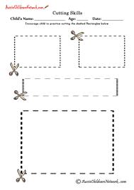 cutting shapes cutting rectangles pre k cutting u0026 tracing
