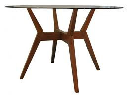 42 round dining table iron wood