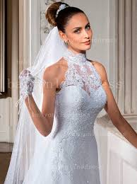 vintage summer wedding dresses 2018 summer wedding dresses high collar covered button lace tulle