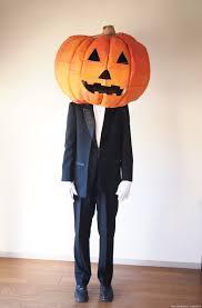 samurai halloween costume the cardboard collective giant cardboard pumpkin head halloween