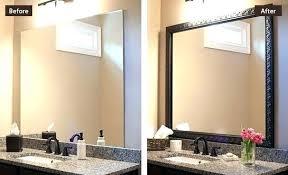 home interiors picture frames home depot bathroom mirror frames gallery of framed bathroom