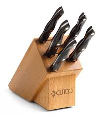 gourmet kitchen knives gourmet set with block 7 pieces knife block sets by cutco