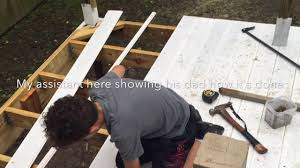 building a covered porch diy building a covered porch youtube