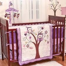 purple owl crib bedding baby mobile baby crib mobile purple