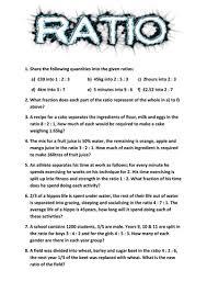 holiday ratios worksheet ratios worksheets ratios rates homework