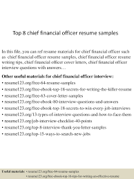 Skills Of A Server For Resume Cfo Resume Tips