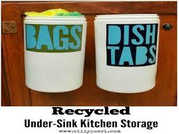 diy kitchen organization ideas under kitchen sink storage diy kitchen organization ideas diy